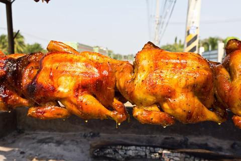 Курица гриль на вертеле рецепты