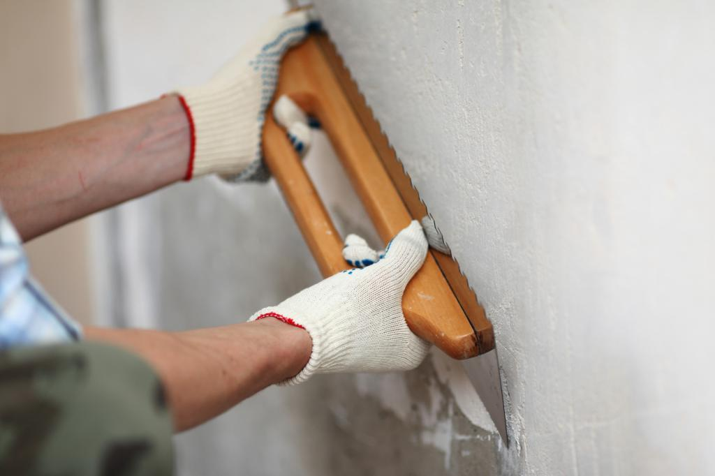 alignment of walls for painting
