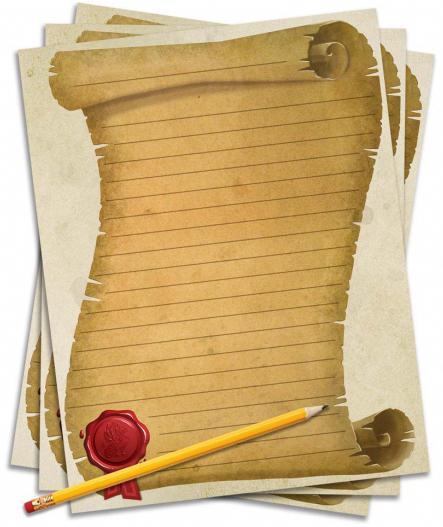 как состарить бумагу в домашних условиях