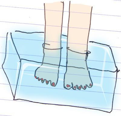 почему мерзнут ступни ног