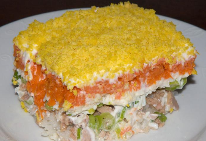 самый вкусный салат, рецепт
