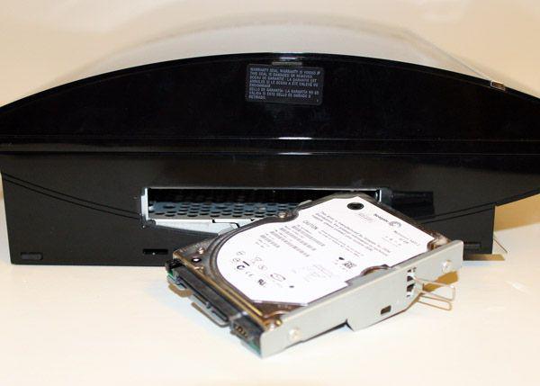 подключить жесткий диск к ps3