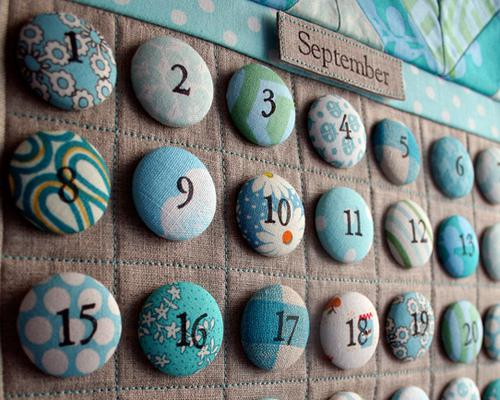 настенный календарь своими руками