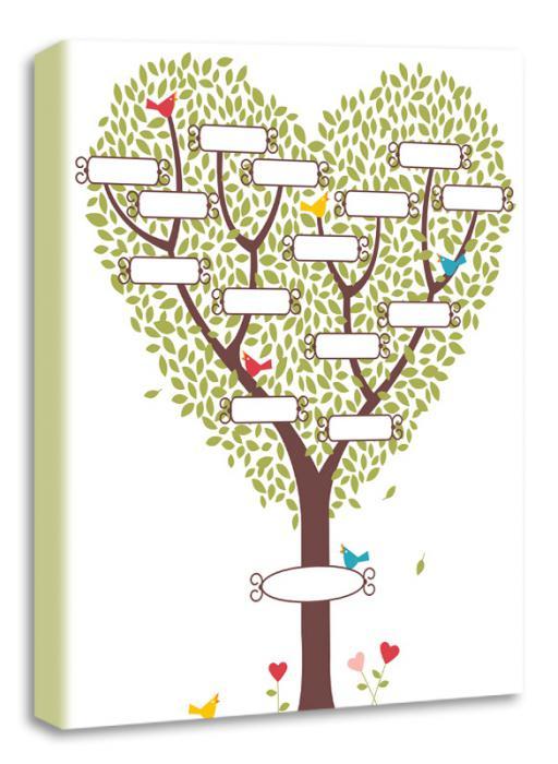 Родовідне дерево схема малюнка