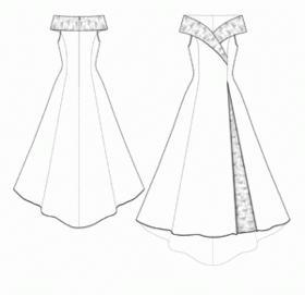 длинное вечернее платье своими руками