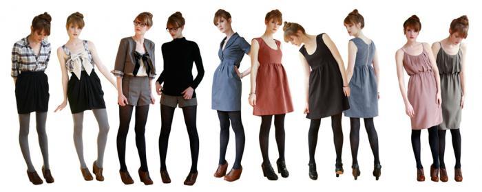 Секреты вашего гардероба: основные виды одежды