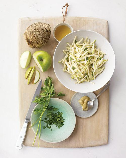 салат корень сельдерея яблоко