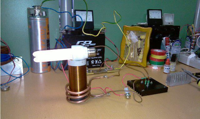 качер бровина на полевом транзисторе