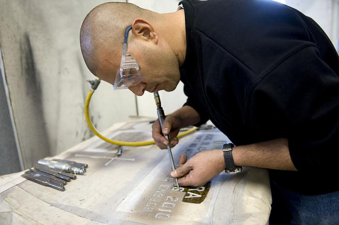 технология пескоструйной обработки металла