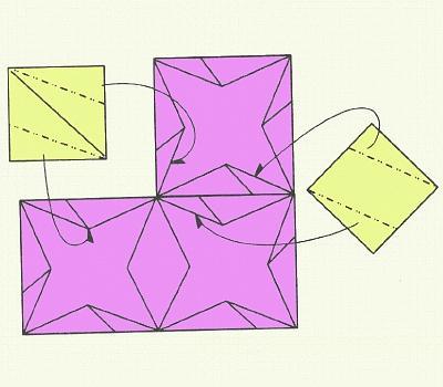 как сделать из бумаги модуль