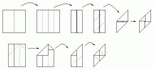 модули из бумаги схемы