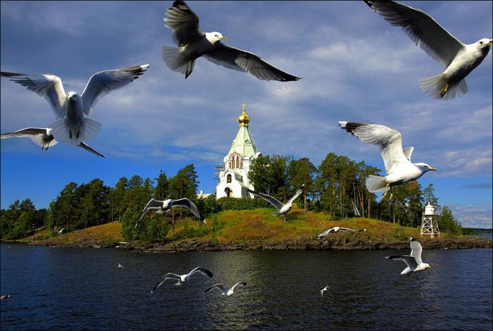 остров валаам из санкт петербурга