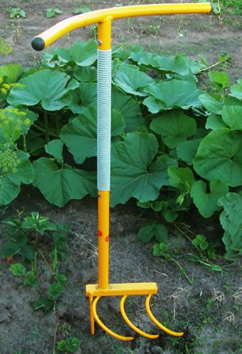 ручной культиватор для почвы