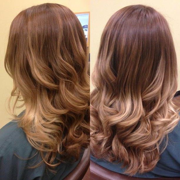 амбре окрашивание волос