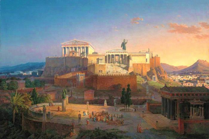 города полисы древней греции