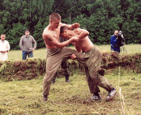 Славяно-горицкая борьба или медвежья борьба