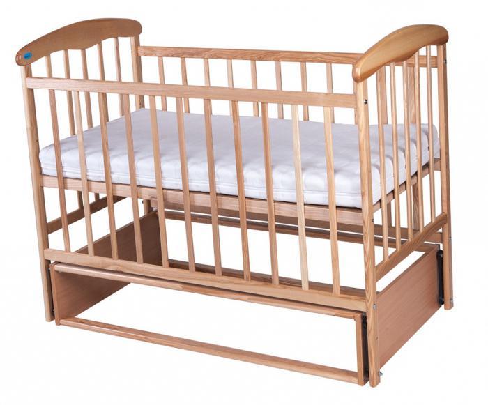детские кроватки стандартные