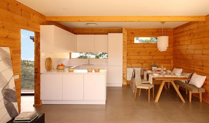 Планировка кухни в частном доме варианты расстановки мебели