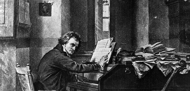 the life of ludwig van beethoven and the movements of his first symphony
