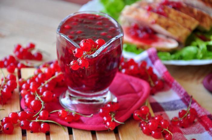 красная смородина рецепты приготовления из нее