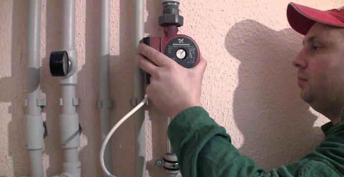 Установка насоса на отопление в многоквартирном доме