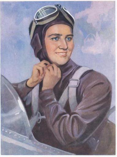 марина раскова женщина летчик