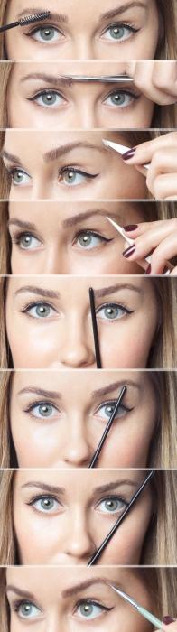 Как сделать себе красивые брови