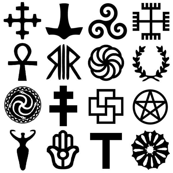 фото со знаком символов