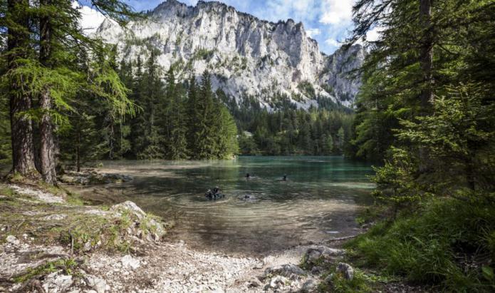 что такое карстовые озера
