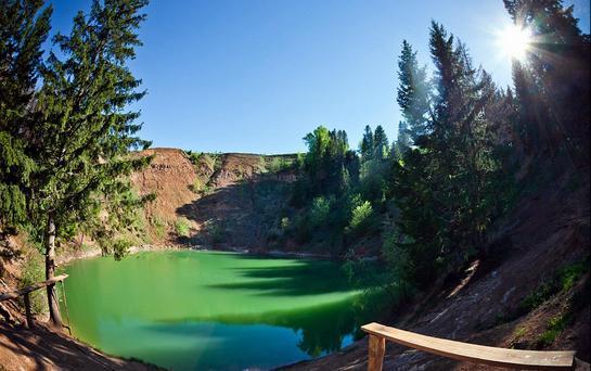 примеры карстовых озер