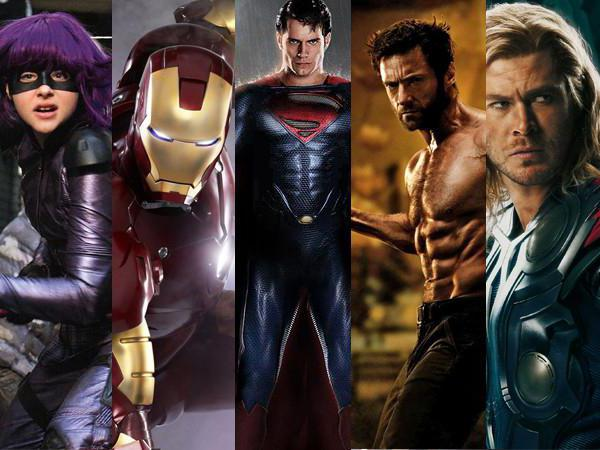 картинки супергероев