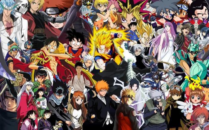 картинки популярные аниме