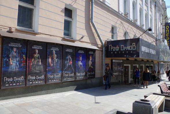 театр оперетты москва