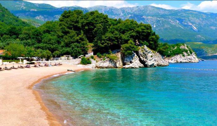 полуостров луштица черногория