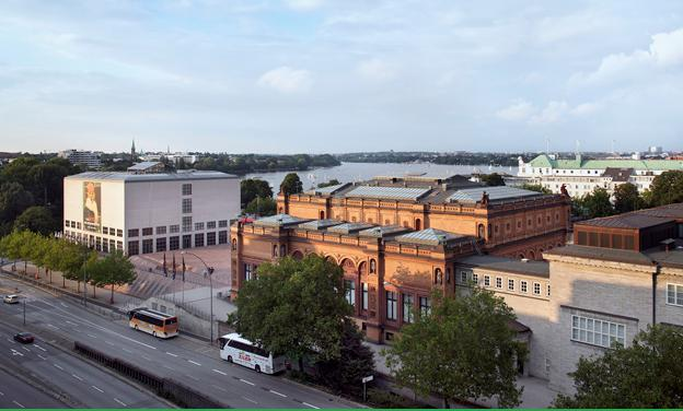The Hamburg Kunsthalle in Germany: pictures, exposure