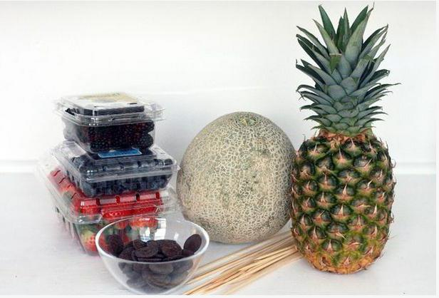 как сделать фруктово цветочный букет своими руками
