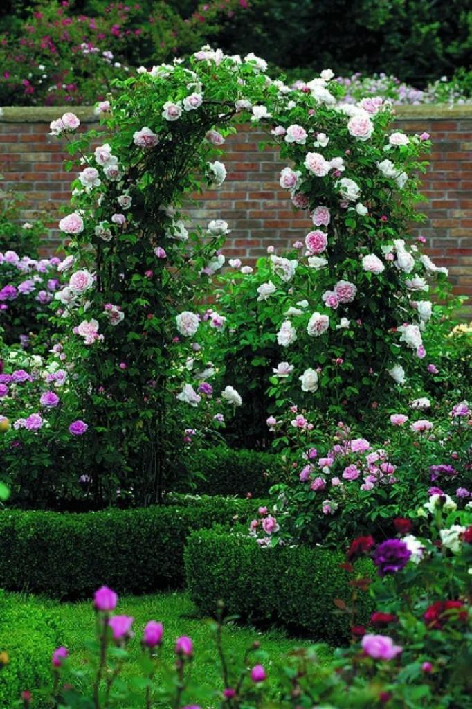 Zoning flower arch
