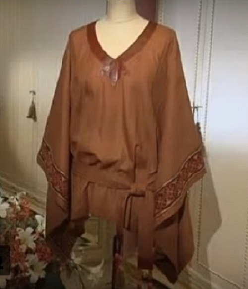 Блуза для полных