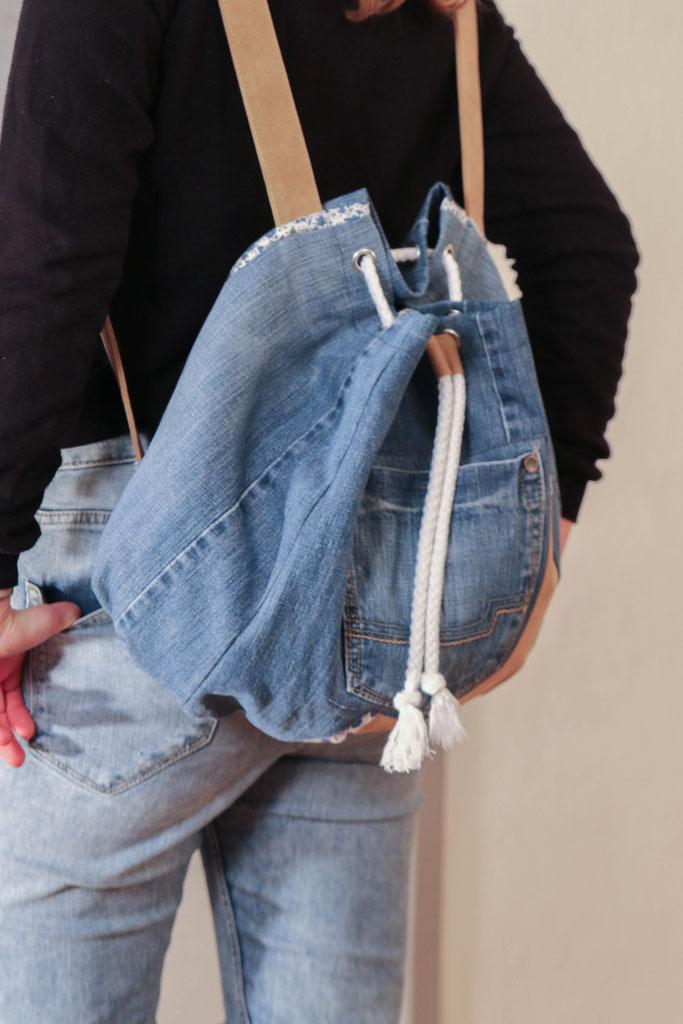Рюкзак в виде заплечника