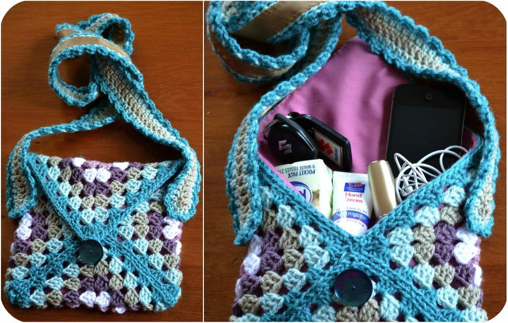 Вязаные сумки крючком: фото, описание