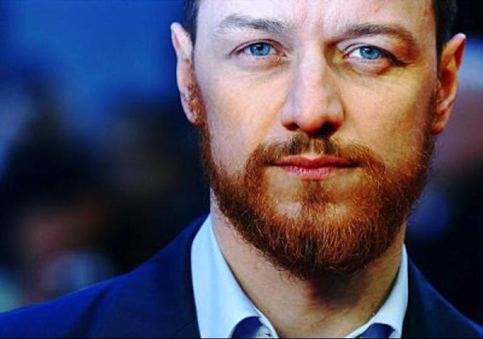 Волосы чёрные борода рыжая