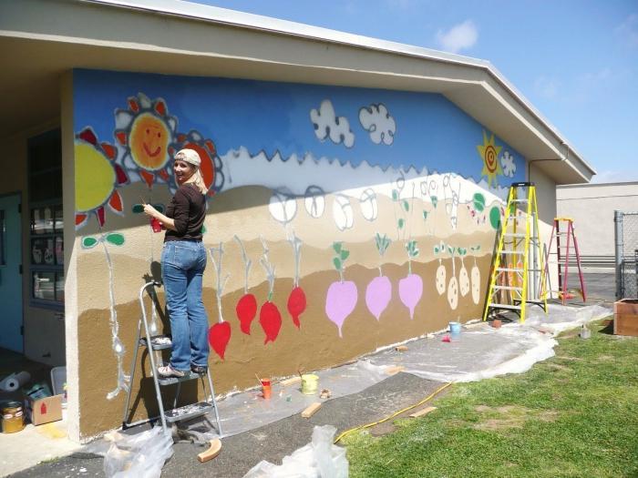 как украсить участок детского сада в летний период своими руками