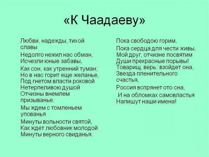 трехметровой стихотворение к чаадаеву почему я его выбрал истоков Решение конфликтов