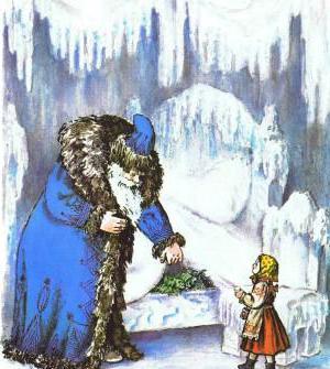 ленивица из сказки мороз иванович