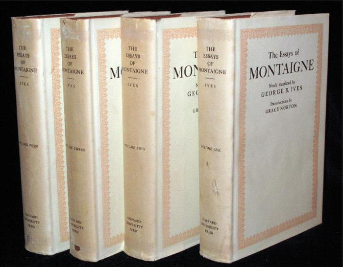 montaigne essays of repentance summary