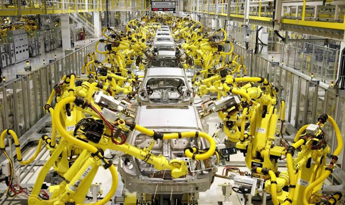 устройство промышленных роботов