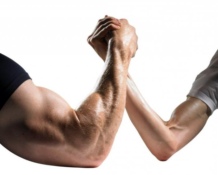 упражнения для накачки рук