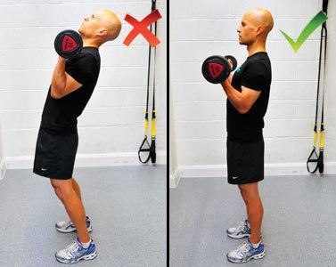 Упражнения на бицепс и трицепс