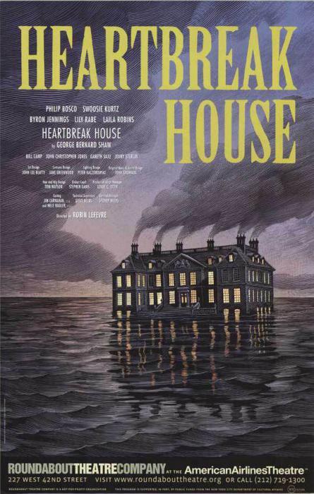 Бернард Шоу, «Дом, где разбиваются сердца»: короткое содержание…