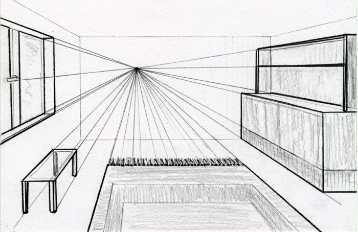 Увлекательные занятия: как нарисовать комнату - FB.